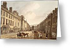 Milsom Street, From Bath Illustrated Greeting Card