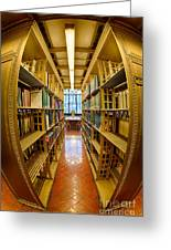 Milstein Room Nyc Library Greeting Card