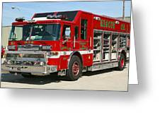 Milwaukee Fire Dept. Rescue 1  Greeting Card