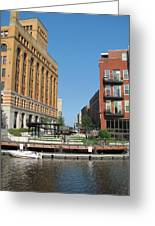 Milwaukee River Architecture 5 Greeting Card