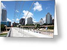 Milwaukee Wisconsin Skyline Greeting Card