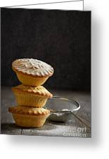 Mince Pie Stack Greeting Card