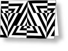 Mind Games 21 Panoramic Greeting Card