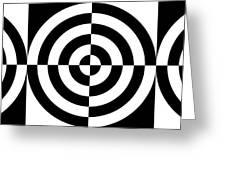Mind Games 3 Panoramic Greeting Card