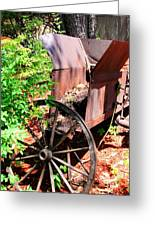 Mine Cart Lost In Time V2 Greeting Card