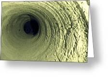 Mine Tunnel Greeting Card