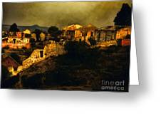 Mineral De Pozos Greeting Card