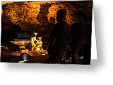 Miners Greeting Card