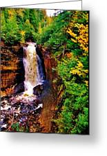 Miner's Falls Greeting Card