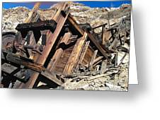 Mines Of Death Valley Greeting Card