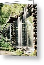 Mingus Mill Millrace Greeting Card