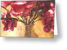 Mini Carnation Bouquet Greeting Card