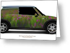 Mini Cooper S Normandy Cosmos Greeting Card