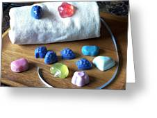 Mini Soaps Collection Greeting Card
