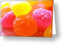 Mini Sugar Fruits Greeting Card