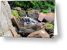 Mini Water Fall Greeting Card