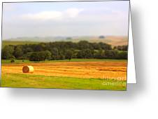 Miniature Countryside Greeting Card