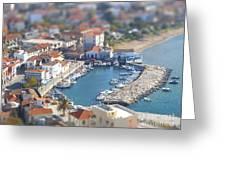 Miniature Port Greeting Card