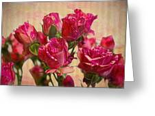 Miniature Roses Greeting Card