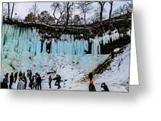 Minnehaha Falls 2 Greeting Card