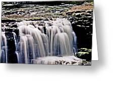 Minneopa Falls Upper Greeting Card
