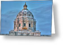Minnesota State Capitol St Paul Mn Greeting Card