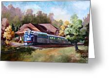 Minnesota Zephyr Greeting Card