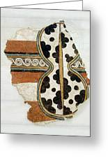 Minoan Livestock Painting Greeting Card