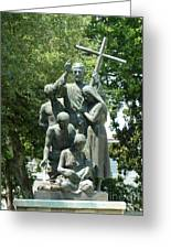 Minorcan Monument Greeting Card