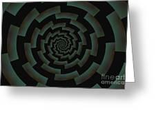 Minotaur's Labyrinth Greeting Card