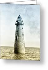 Minots Ledge Lighthouse Greeting Card