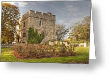 Minster Abbey Gatehouse Greeting Card