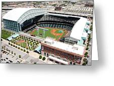 Minute Maid Park Houston Greeting Card