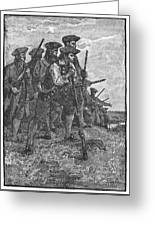 Minutemen, C1776 Greeting Card