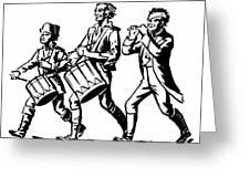 Minutemen: Spirit Of 1776 Greeting Card