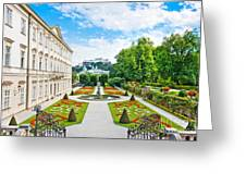 Mirabell Gardens In Salzburg Greeting Card