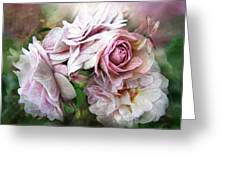 Miracle Of A Rose - Mauve Greeting Card