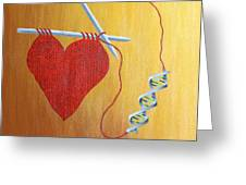Miracle Of Dna Greeting Card