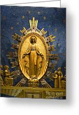 Miraculous Medal Chape Greeting Card