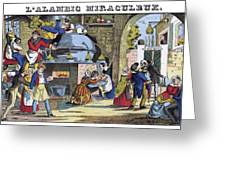 Miraculous Still, 1839 Greeting Card