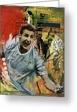 Miroslav Klose Greeting Card