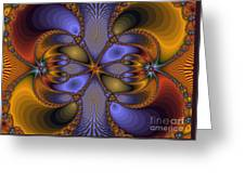 Mirror Butterfly Greeting Card