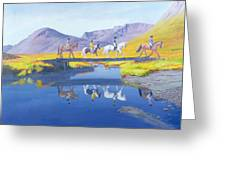 Mirror In The Cairngorms Greeting Card
