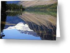 Mirror Lake Banff National Park Canada Greeting Card