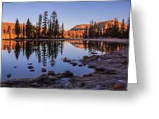 Mirror Lake Dawn Greeting Card
