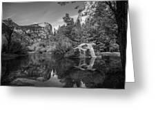 Mirror Lake Greeting Card