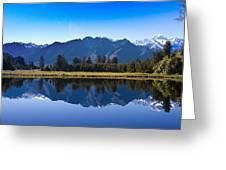 Mirror Lake Panorama Greeting Card