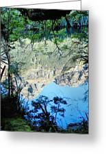 Mirror Lake Three New Zealand Greeting Card
