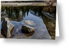 Mirror Lake Threesome 2 Yosemite Greeting Card