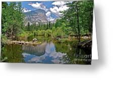 Mirror Lake Yosemite Greeting Card